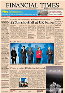 Financial Times - April 6, 2013