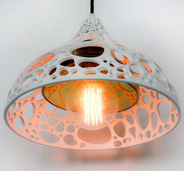 Alga pendant by Sebastian Damm