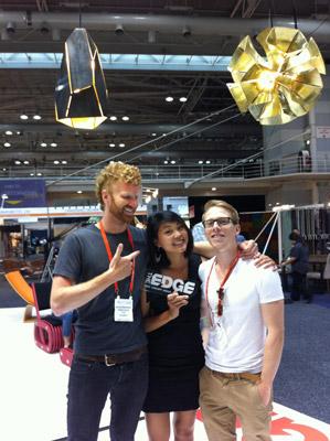 Left to right: Ed, Stephanie & Viktor