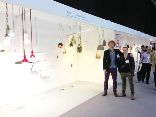 Edward Linacre & Viktor Legin @ The Australian Design Pavilion, 100% Design, London