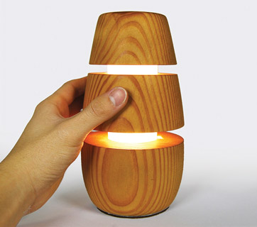 Comb Lamp by Dennis Lam