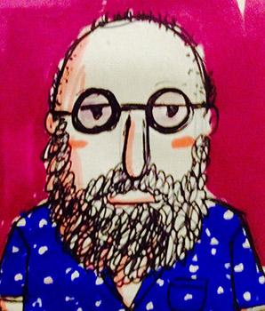 Caricatura de Diego Fournier