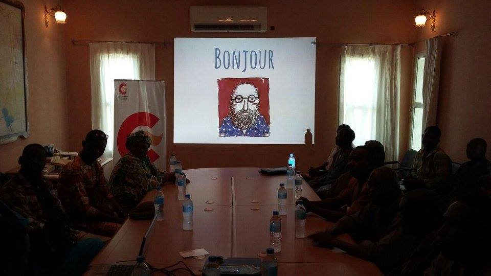 Don Quijote en el río Níger (Níger, 2016)