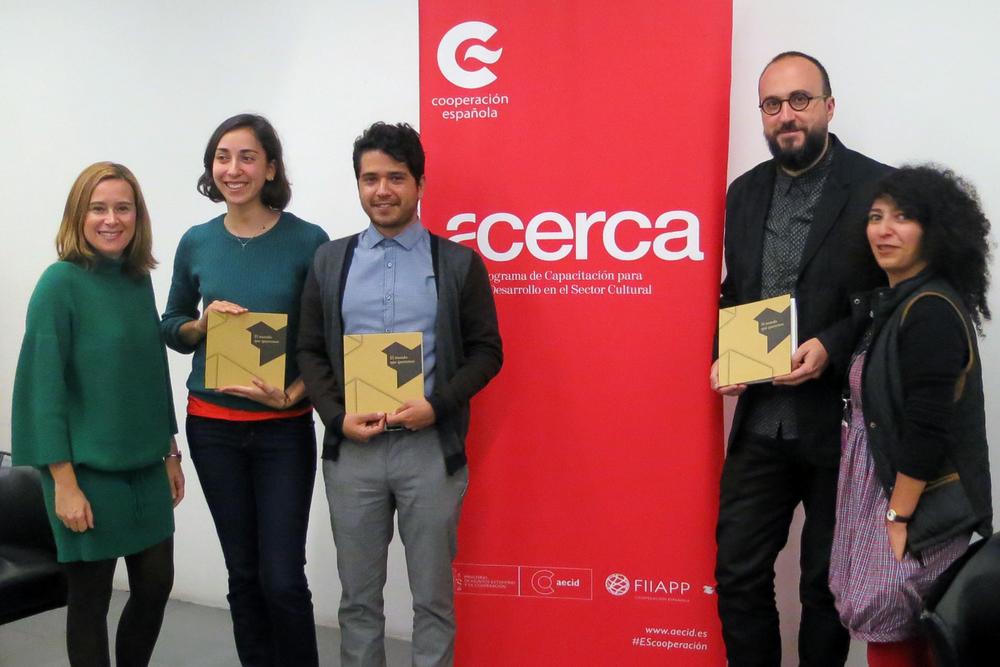 Presentación de 'El mundo que queremos'. Centro Cultural de España en México, 2015.