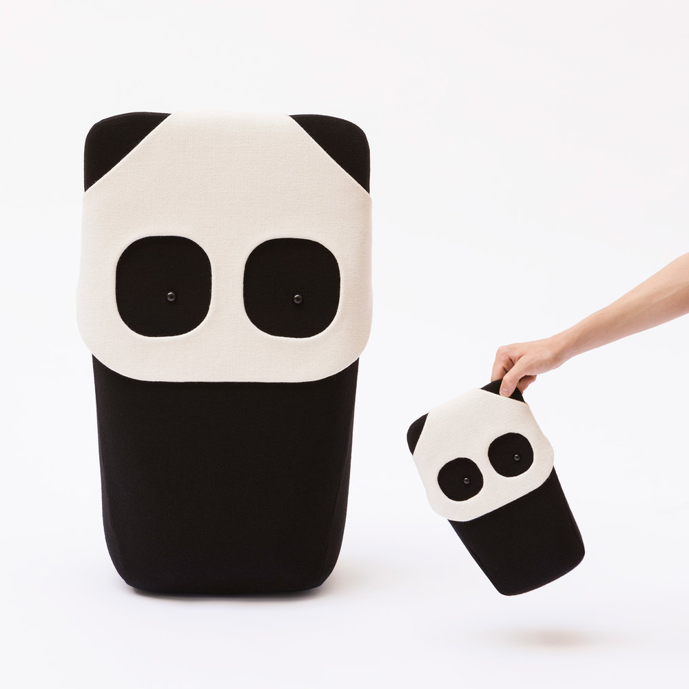 Large Panda and Mini Panda