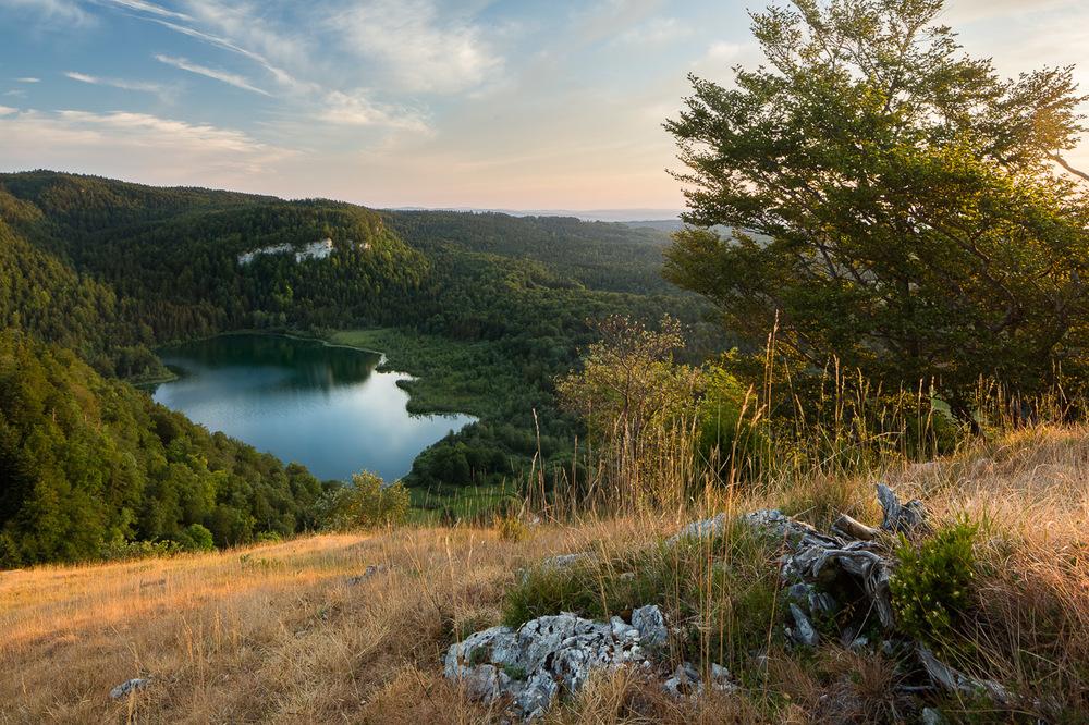 Le lac de Bonlieu