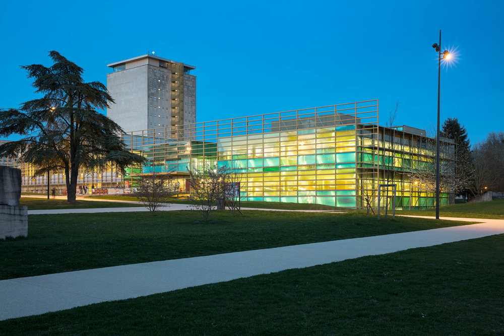 Bibliothèque Universitaire Lettres - Dijon  DMT Architectes