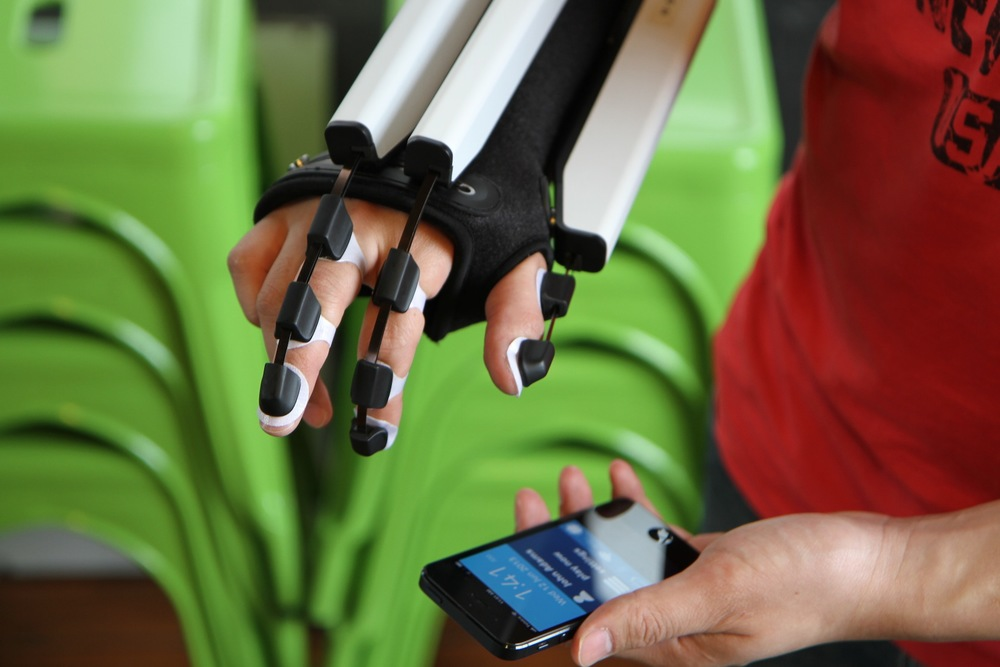 Exoflex Hand Therapy Device