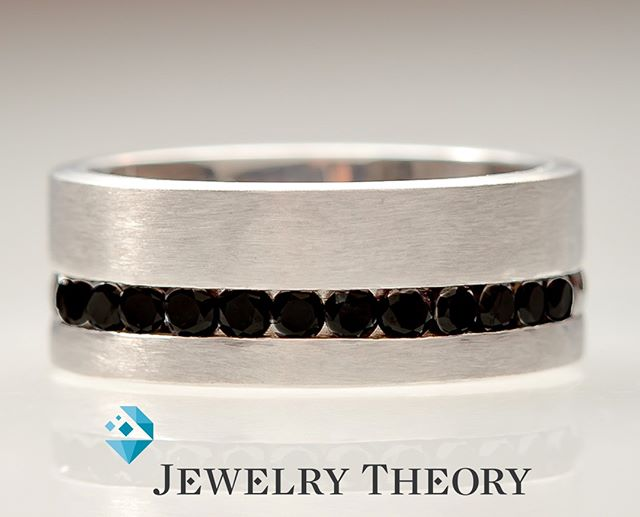 Black diamonds?  Why yes please!  #diamonds #jewelry #finejewelry #fashion #gold #style #jewelryaddict #whitegold #jewelrydesigner #handmadejewelry #instajewelry #jewelrydesign #jewelrygram #luxury #custom #ring