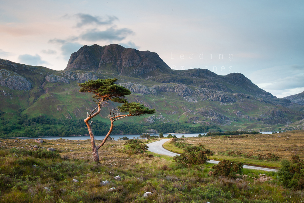 Slioch, taken on a recent research trip to Torridon