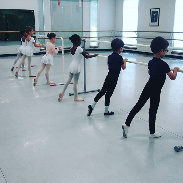 So proud of the hard work and concentration I'm seeing from our Sylph/Zane class learning their Cecchetti Primary 2 curriculum! #classicalballetiseverywhere #cecchettiballet #classicalballetschoolokc #boysdoballet #boysdoballettoo