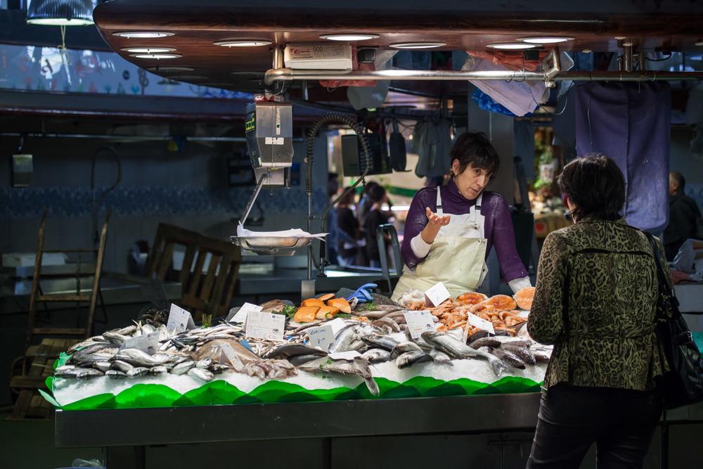 La Boqueria fish market