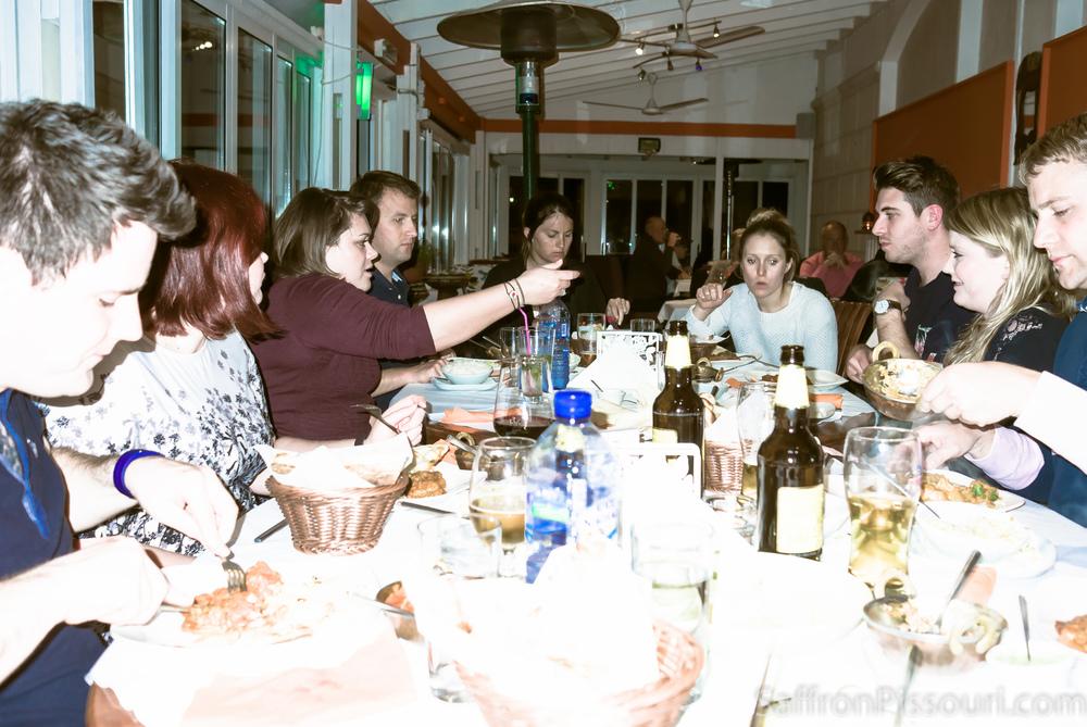 Sarah's party