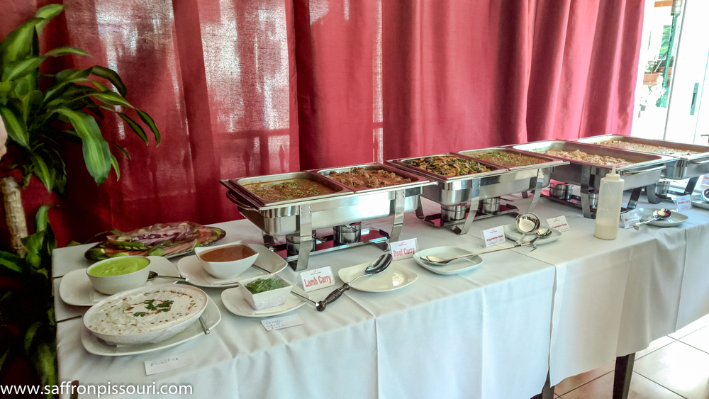 Curry Sunday buffet on Remembrance day