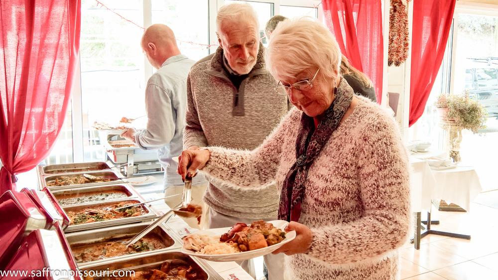 Sunday Curry Buffet at Saffron