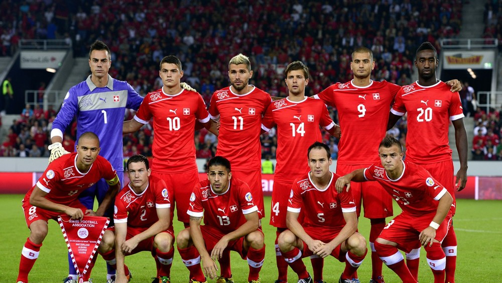Switzerland had the most multi-cultural team out of the 32 that participated in the 2014 Brazil World Cup.