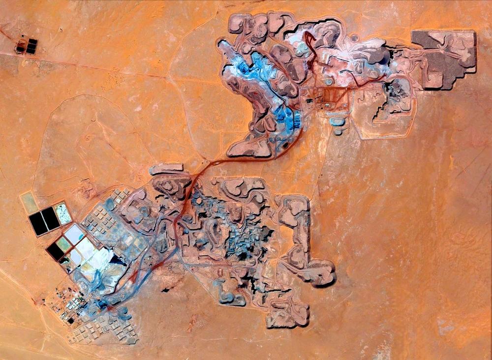 Arlit uranium mine, Niger