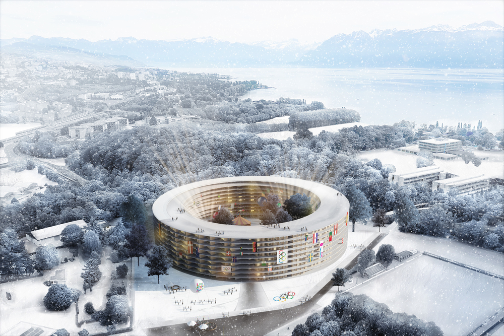 The Lausanne 2020 Olympic Village