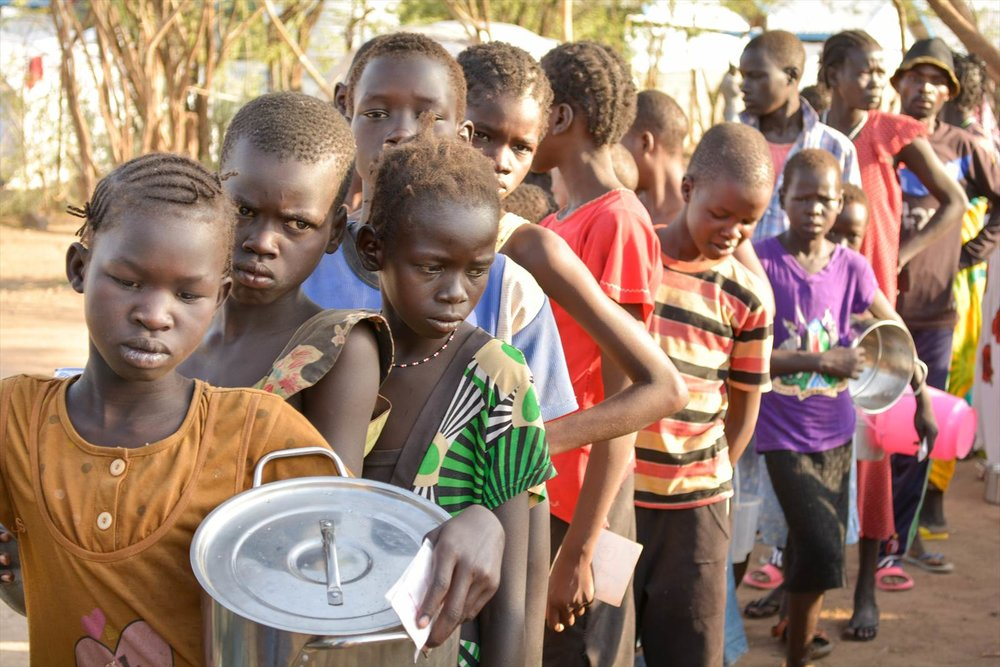 2.5 million people on the brink of famine in South Sudan, 2015