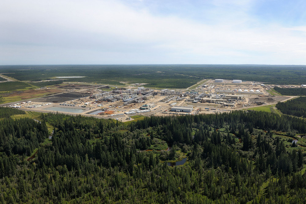 Cenovus' Christina Lake oil sands operation ( source )