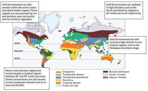 Global distribution of extreme environments geo41 source gumiabroncs Images