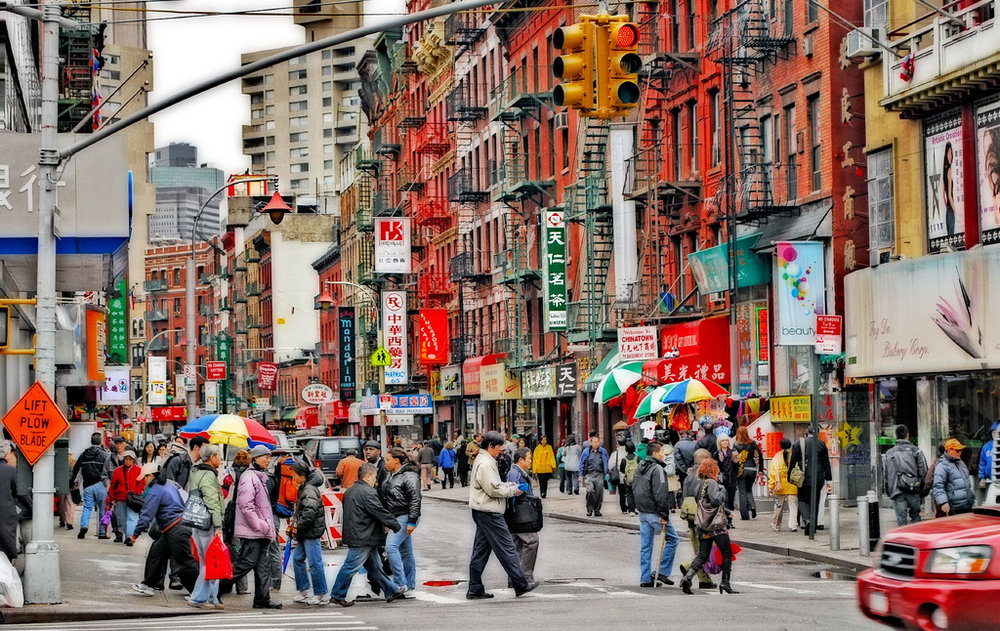 Chinatown in a North American city ( Source )
