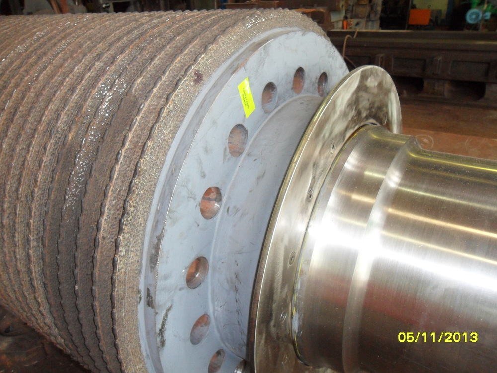 New Perforated Mill Roller