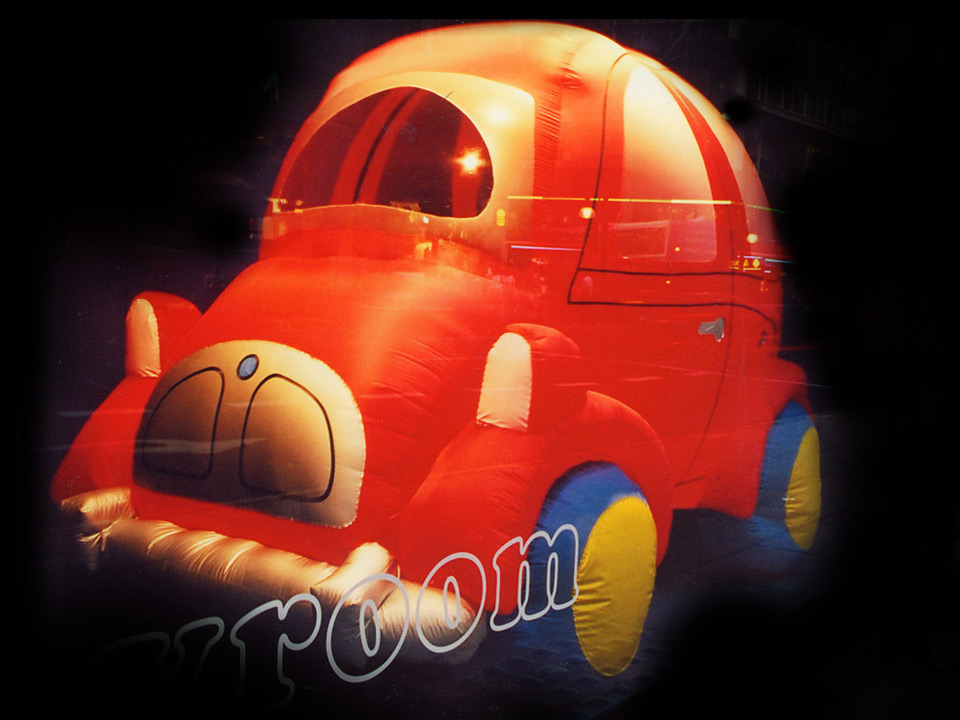 Toy Car Cute little bubble car. 240cm Length                     £90.00