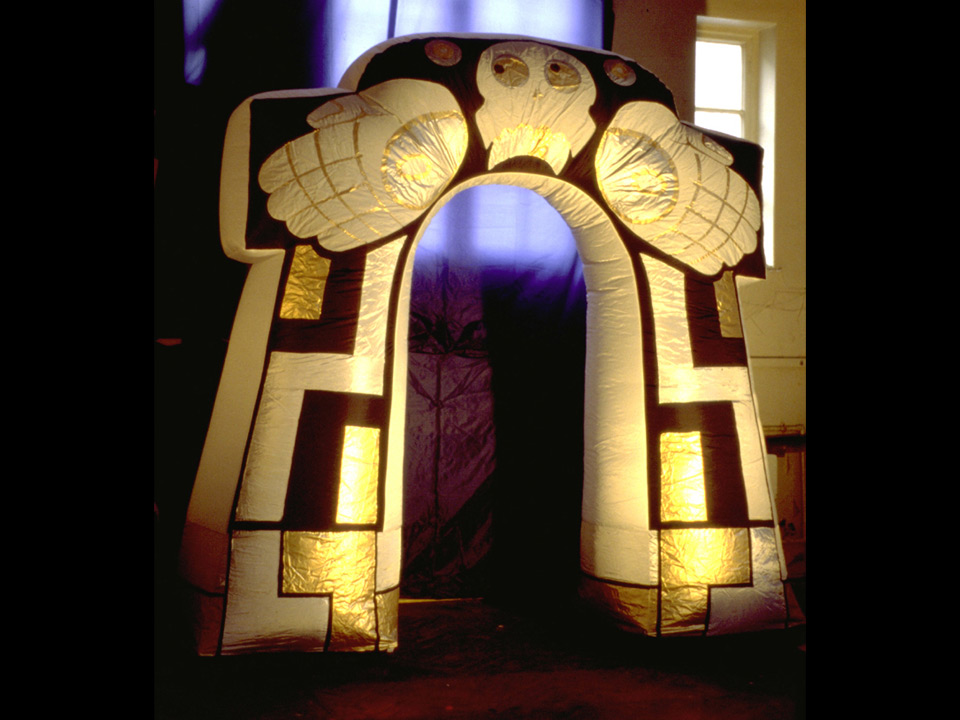Mayan Archway  290cm Height £75.00