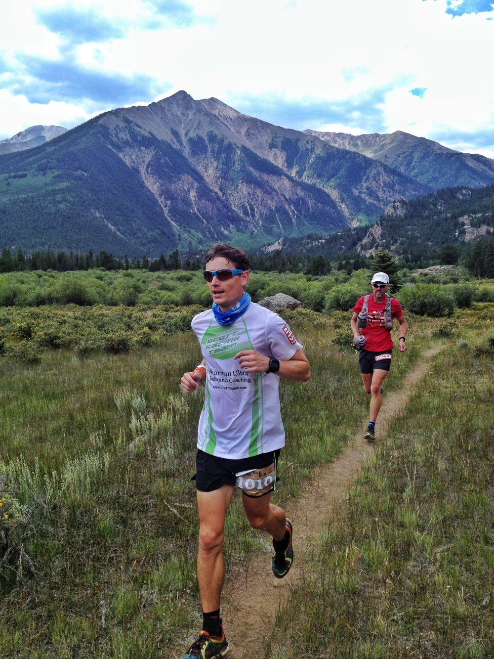 Ian feeling at home at Leadville