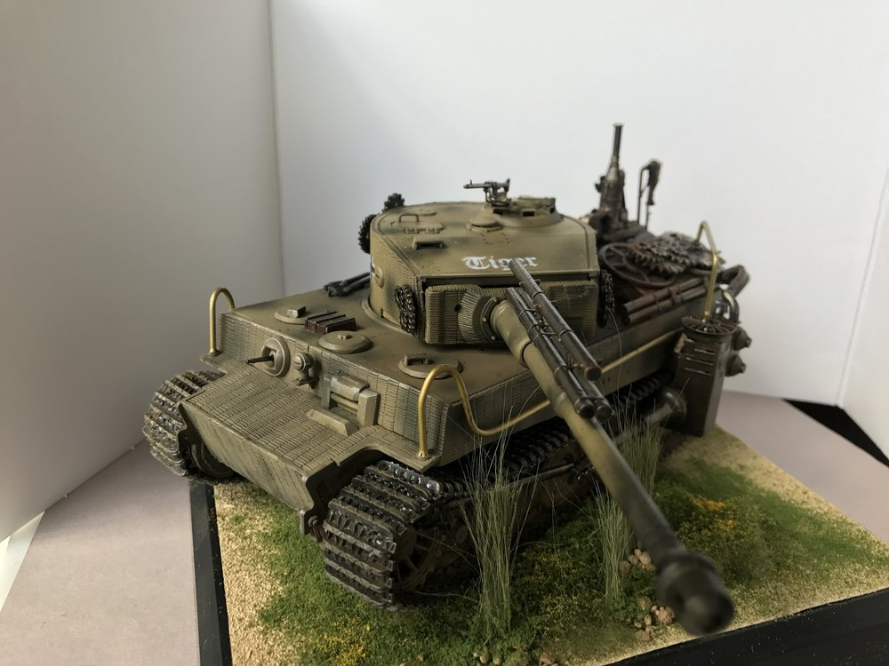 1/35 German Tiger I Steampunk Conversion by stukarudel