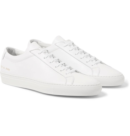 COMMON PROJECTS  Original Achilles Leather Sneakers $410