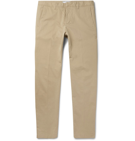 AMI  Slim-Fit Cotton-Twill Chinos  $220