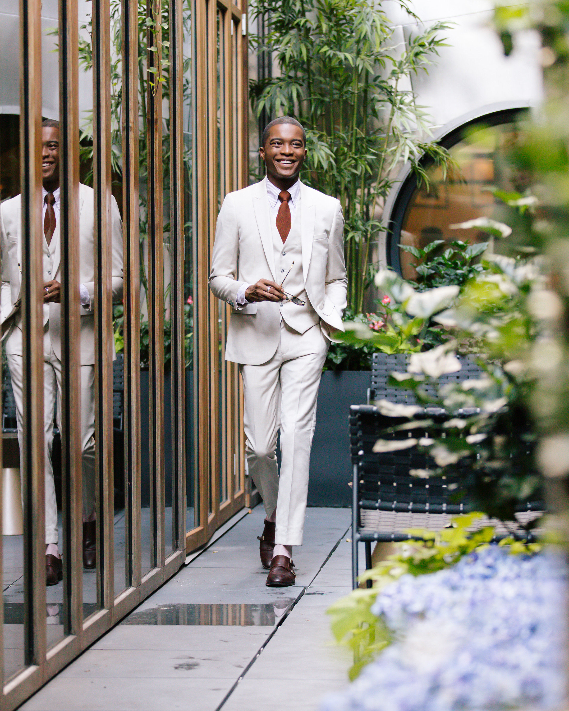 33a1471c5898 Wearing a Three Piece Suit In The Summer — Igee Okafor