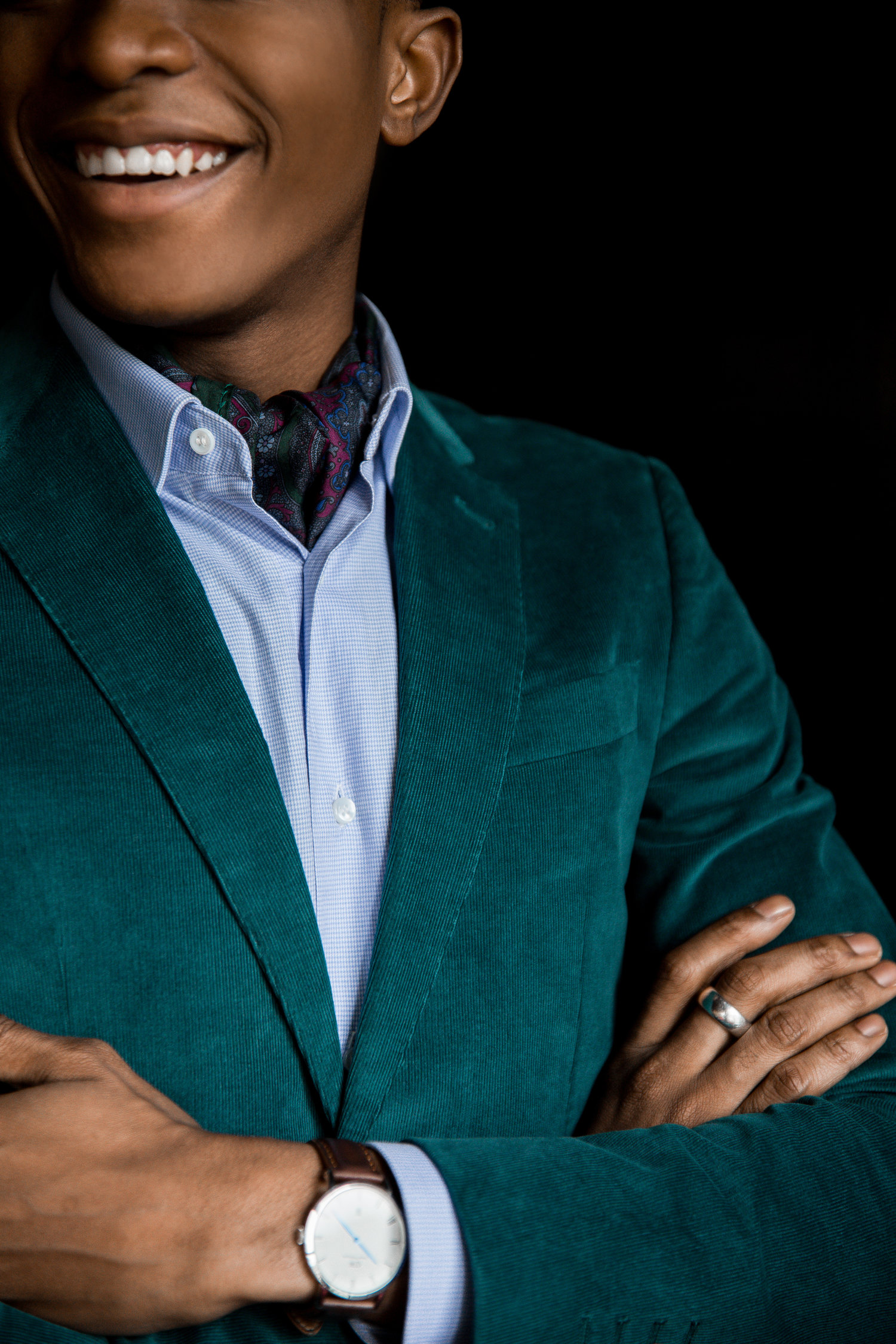 7ae6658c09aae How To Nail Corduroy For Holiday Style — Igee Okafor