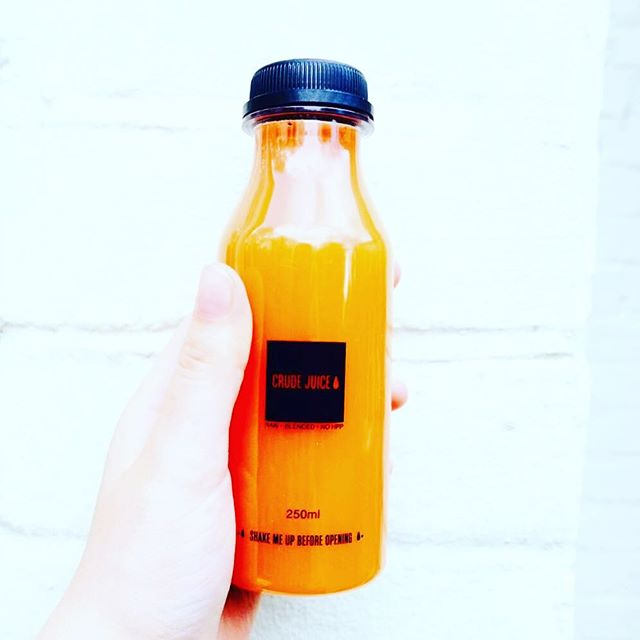 Carrot, Apple, lemon and ginger. The simplest ingredients but the most profound taste and nutritional benefits. Cold-pressed fresh daily and delivered to you. Find us online at www.crudejuice.co.uk. Enter code MAY for 20% off at checkout. #fresh#raw#unprocessedfood #unpasteurized #coldpressed#juice#cleanse#healthy#fitness#fitnessinspiration #fit #womenshealth#menshealth#juicecleanse#cleaneats#crudejuice#london #light#healthylife#vegan#veganfood #veganfoodshare