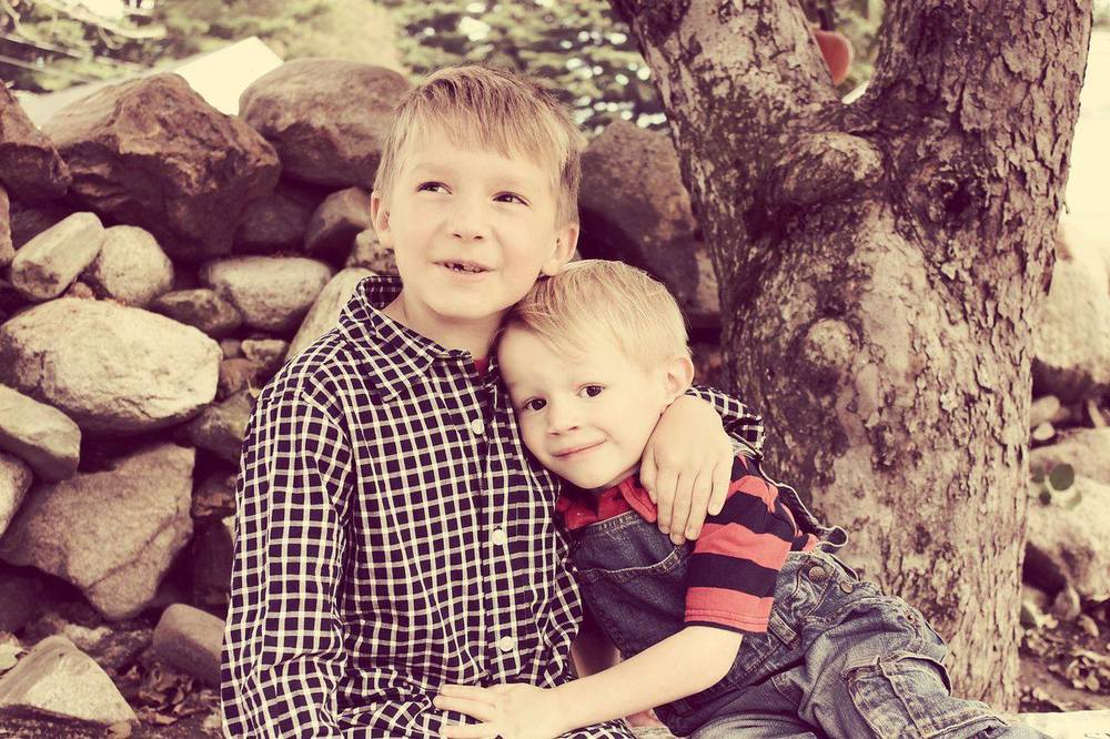 """I can't express how happy I am with the photos of my sons. Courtney took the time to get to know my boys and capture their genuine smiles. I see these awesome, loving moments in our life that would be gone forever had they not been captured, so perfectly, by her. Thank you SO much for such a precious gift!"" - Kristen Kotrlik  {Photo shoot location: Smolak Farms - North Andover, MA}"