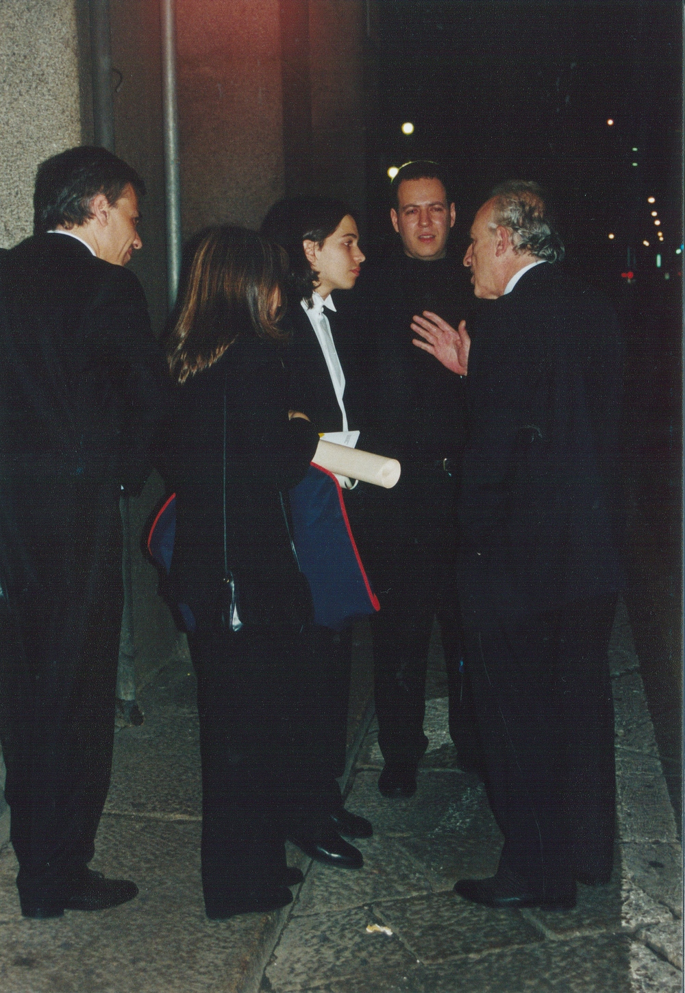 With Maurizio Pollini and Horacio Lavandera, Milan