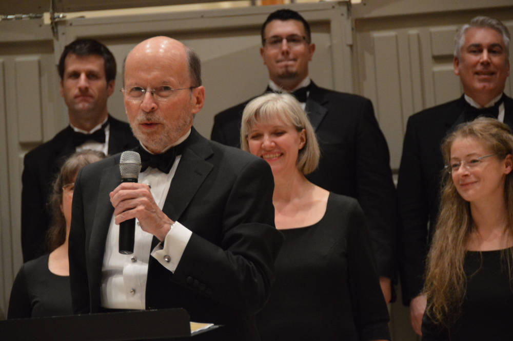 Philip Brunelle and the VocalEssence Ensemble Singers