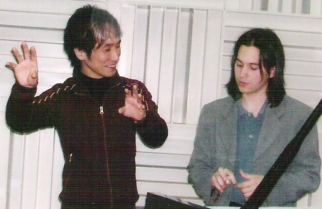 With Atsuhiko Gondai