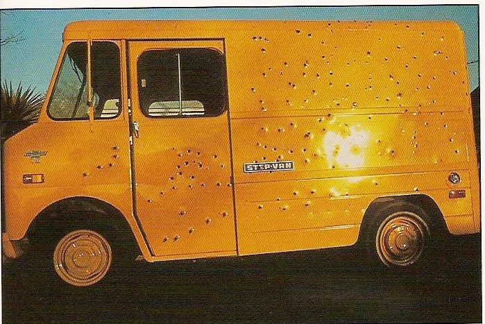 The Bonnie and Clyde Mobile, 1982