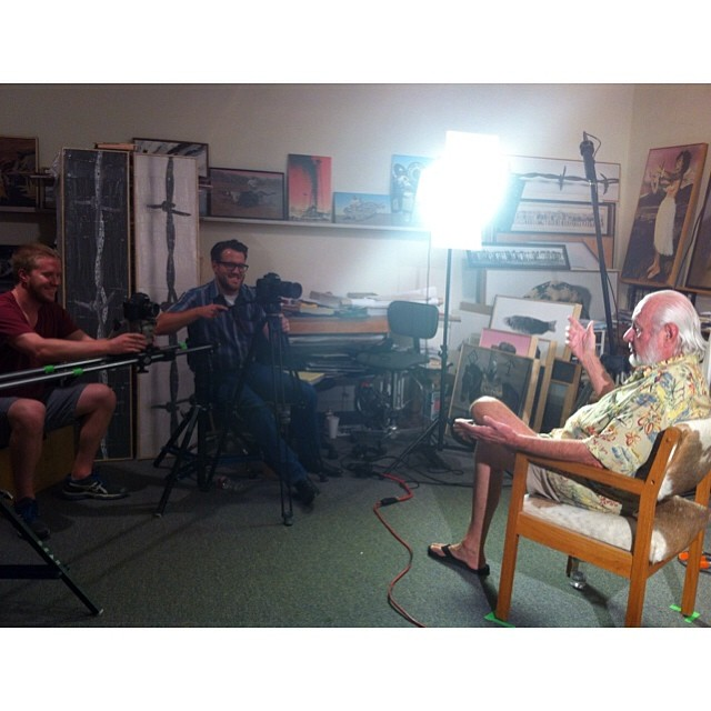 #behindthescenes #bobwade #documentary #film #austin #texas #dallas #art #studio #interview