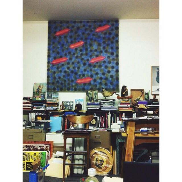 Bob Wade's studio.
