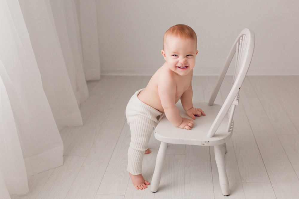 Sarah Cropper Photography - Nine Month Old Baby Photo Session - Columbus Baby Photographer