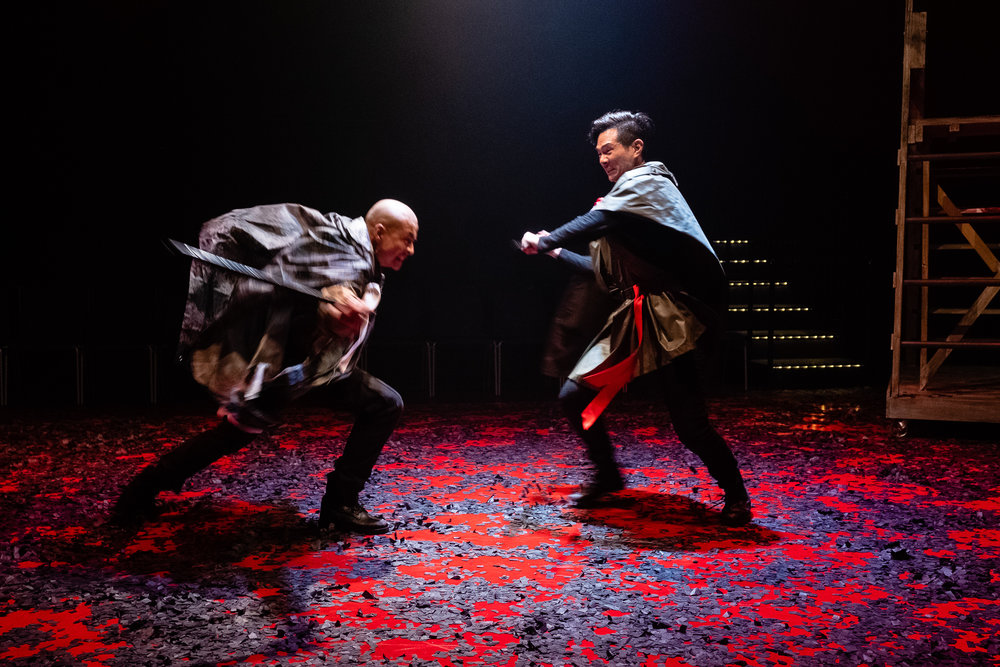 David Huynh as Richard of Gloucester and James Seol as Clifford