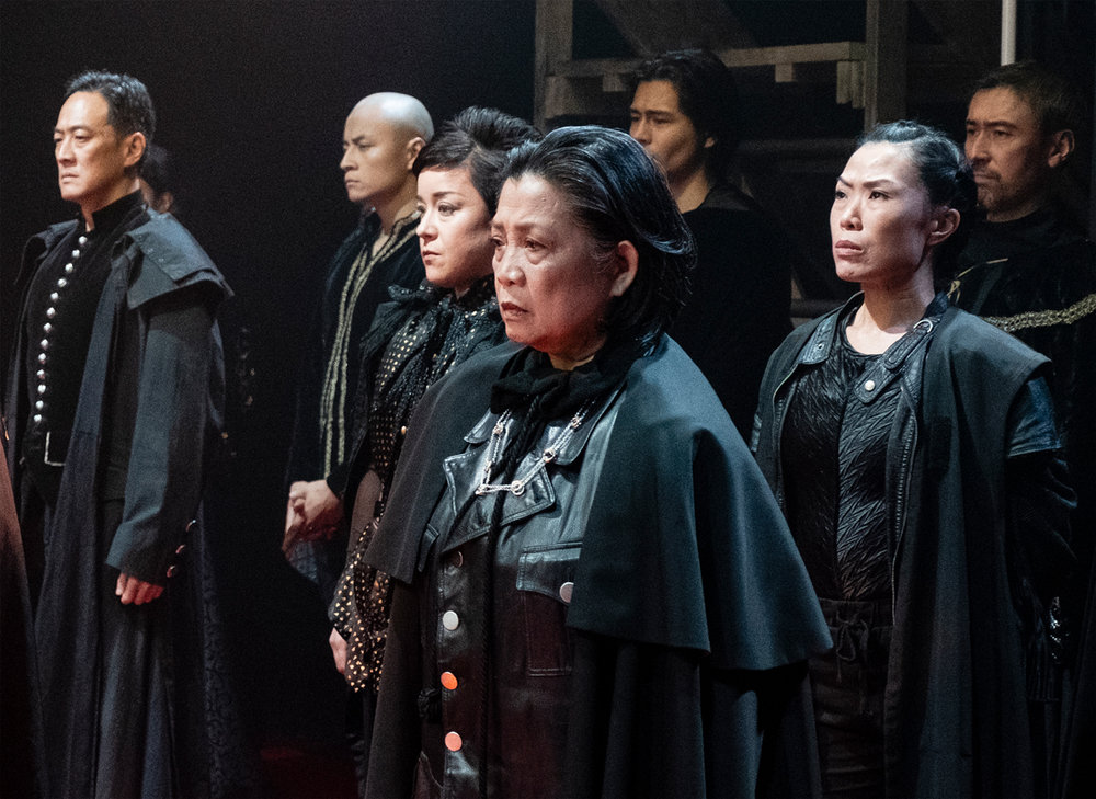Paul Juhn as the Earl of Suffolk, David Huynh, Anna Ishida as the Duke of Somerset, Mia Katigbak as the Duke of Gloucester, Michelangelo Hyeon, Vanessa Kai as the Earl of Warwick, and John Haggerty