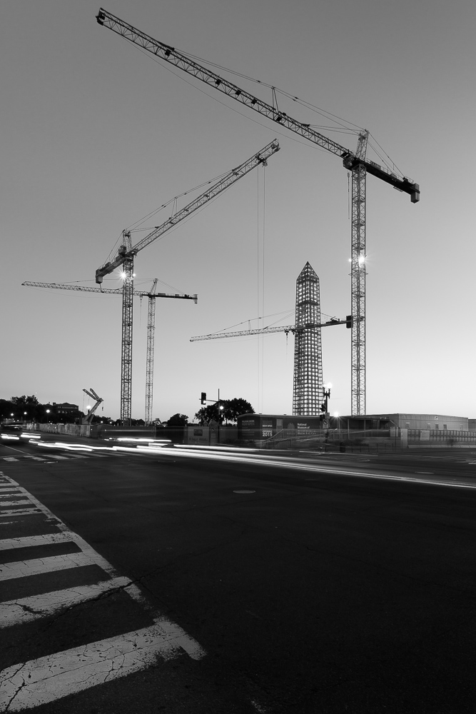 Washington Monument and Museum Construction #1