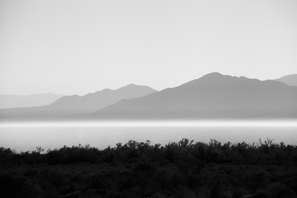 Salton Sea and Mountains