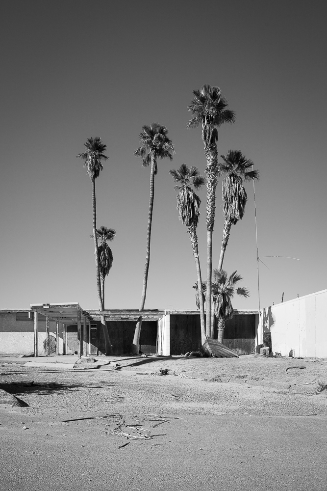 Abandoned Motel, Salton Sea Beach, CA