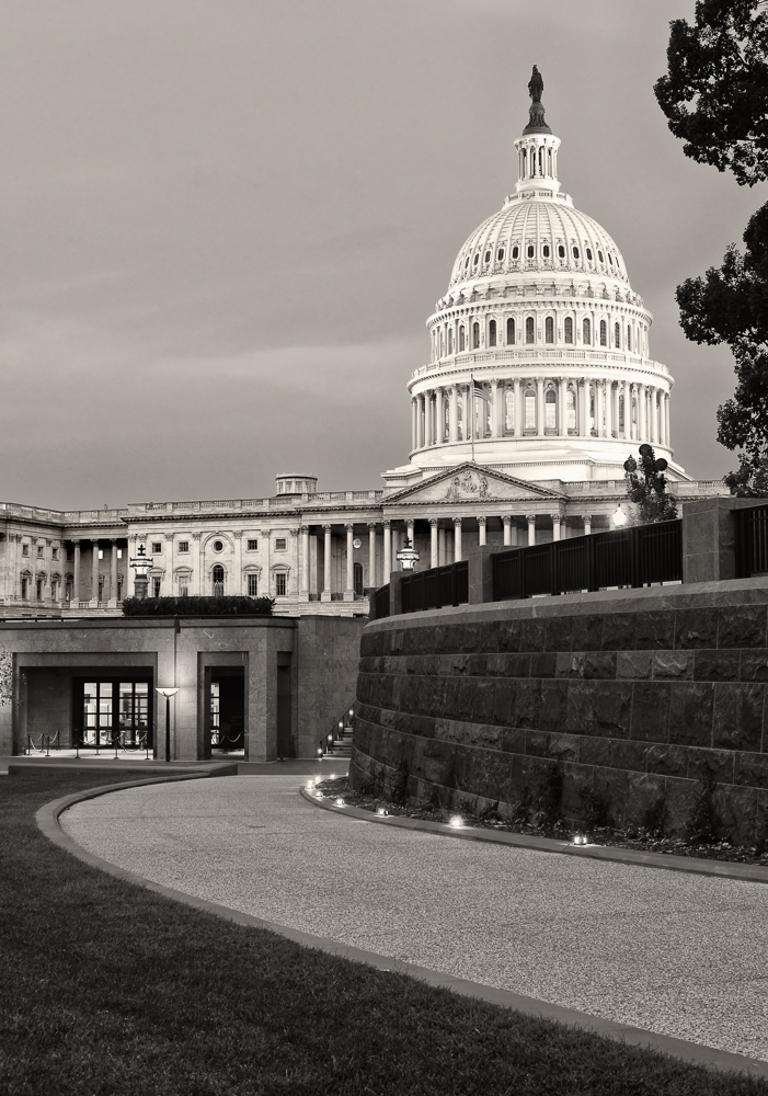 Leading to the Capitol
